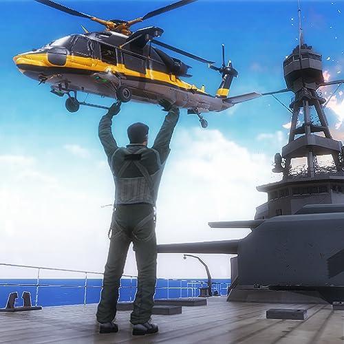 Marine Air Ambulance: Naval Battle Rescue Game