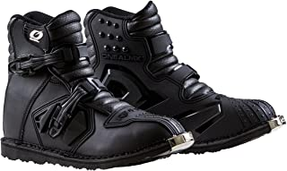 O'Neal 0344-009 Unisex-Adult Rider Shorty Boot BLK 9 (Black, 9)