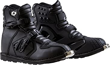 O'Neal - 0344-012 Unisex-Adult Rider Shorty Boot BLK 12 (Black