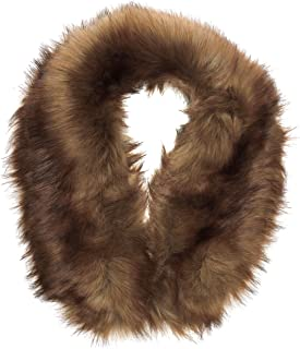 New Look Damen, Stola, Fox Fur Collar