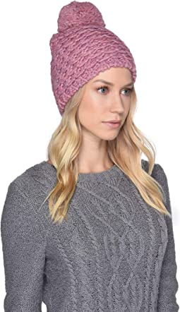 Yarn Pom Knit Hat
