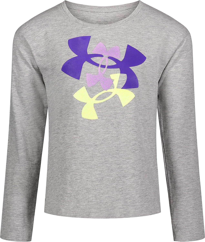 Under Armour Girls' Long Sleeve Logo Tee