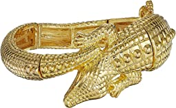 Gold Alligator Stretch Bracelet