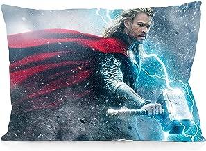 DoubleUSA Thor Pillowcases Two Sides Print Zipper Pillow Covers 20x30