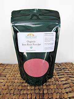 Beet Root Powder - Organic - 1 kg or 2.2 lb Bulk Bag (Beta vulgaris) with
