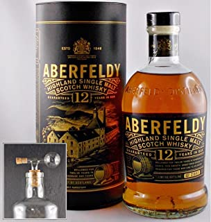 Aberfeldy 12 Jahre Single Malt Whisky  1 Glaskugelportionierer