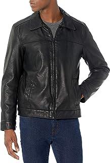 Men's Classic Faux Leather Jacket