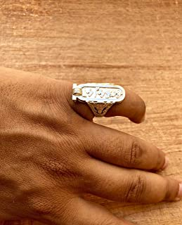 Best silver cartouche rings Reviews