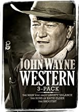 John Wayne Western Three-pack: (The Man Who Shot Liberty Valance / Sons of Katie Elder / The Shootist)