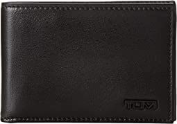 Delta - Slim Single Billfold Wallet