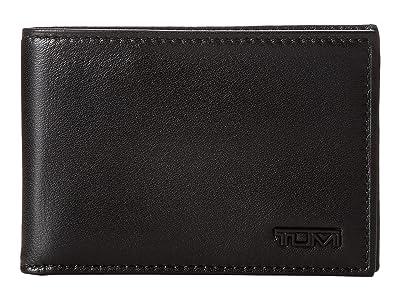 Tumi Delta Slim Single Billfold Wallet (Black 1) Wallet