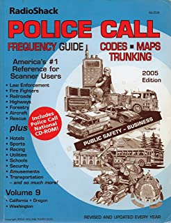 Best radio shack police call frequency guide Reviews