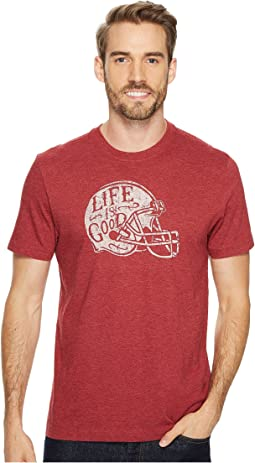 Life is Good - Football Helmet Life is Good® Crusher Tee