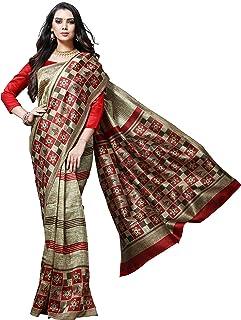 a6a785213c EthnicJunction Women's Mysore Silk Saree with Blouse Piece (EJ3008-Mysore  Silk Saree-Gold
