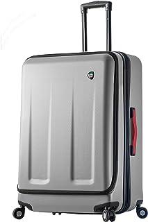Mia Toro Italy Esotico 28 Inch Spinner Luggage, White, One Size