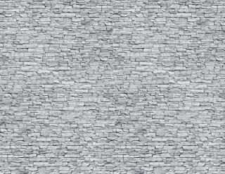 HO Scale Stone Paper 8.5x11 Pack of 5 (Gray)