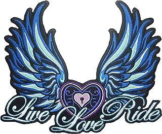 Lady Rider Women Biker Wings