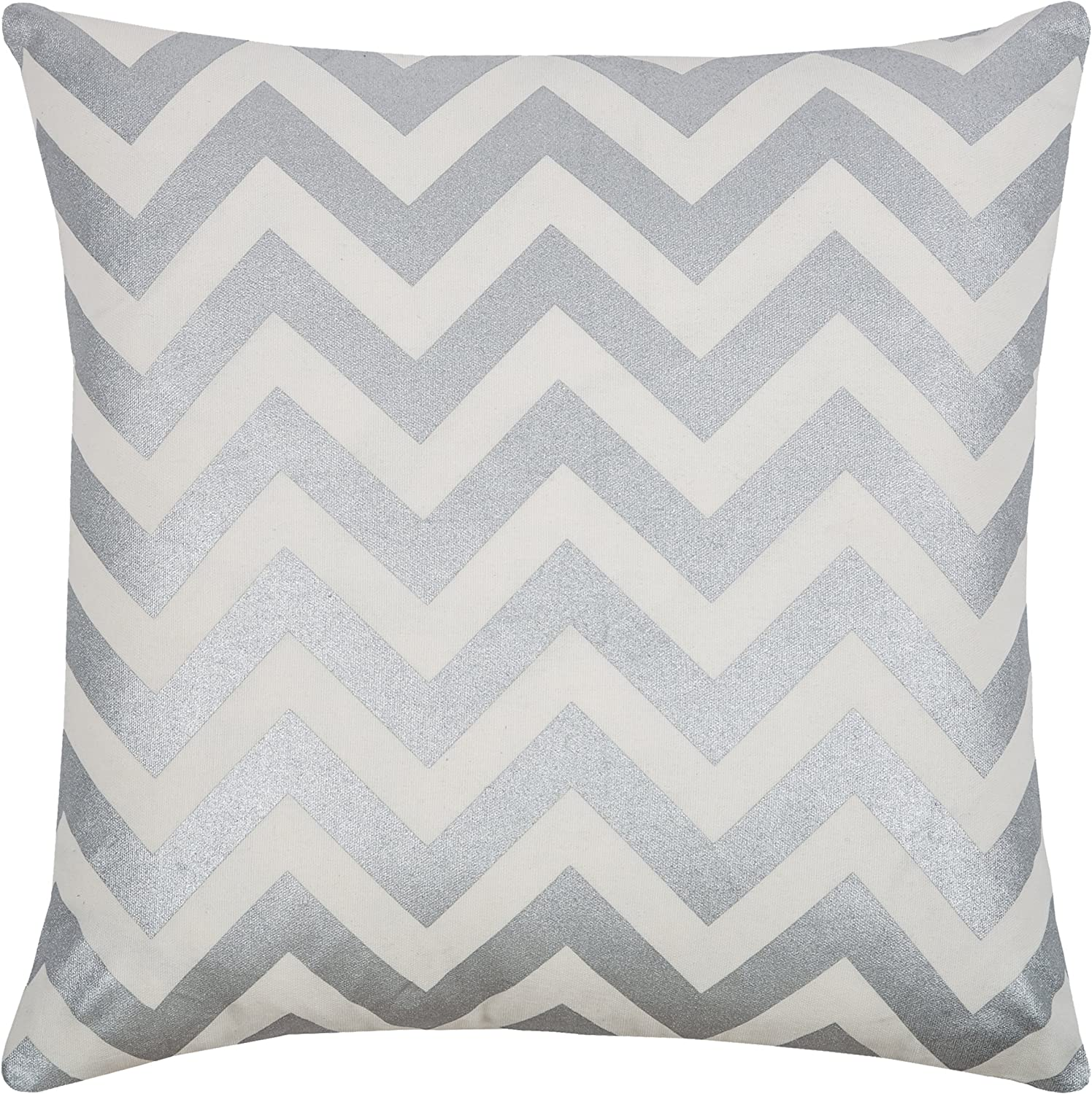 Ranking TOP6 Rizzy Home T08777 Decorative Pillow Metalli 18