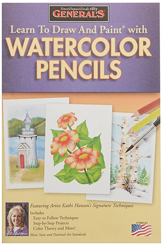 General Pencil Learn to Draw and Paint with Watercolor Pencils
