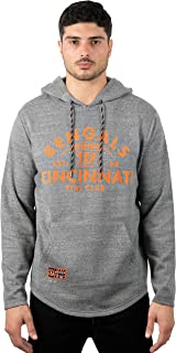 Ultra Game Men's Fleece Hoodie Pullover Sweatshirt Embroidered, Team Color