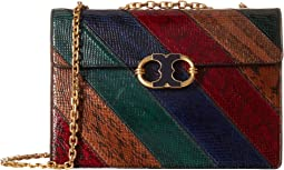 Tory Burch - Gemini Link Chain Snake Shoulder Bag