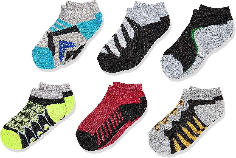 Jefferies Socks Boy's Tech Sport Low Cut Socks 6 Pair Pack