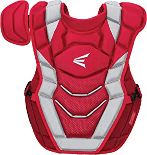 EASTON PRO X Baseball Catchers Chest Protector   2020   Double Layer Design + EVAIR Foam   4 Point Strap System + Neoprene Back for Superior Fit & Comfort   NOCSAE Approved Commotio Cordis Foam