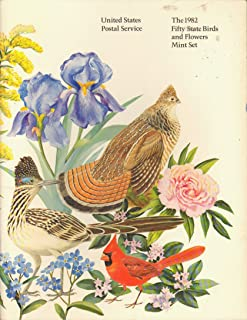 The 1982 Fifty State Birds and Flowers Mint Set (U.S. Postal Service, Stamp Collecting)