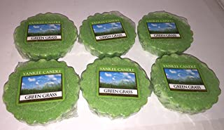 Yankee Candle Lot of 6 Green Grass Tarts Wax Melts