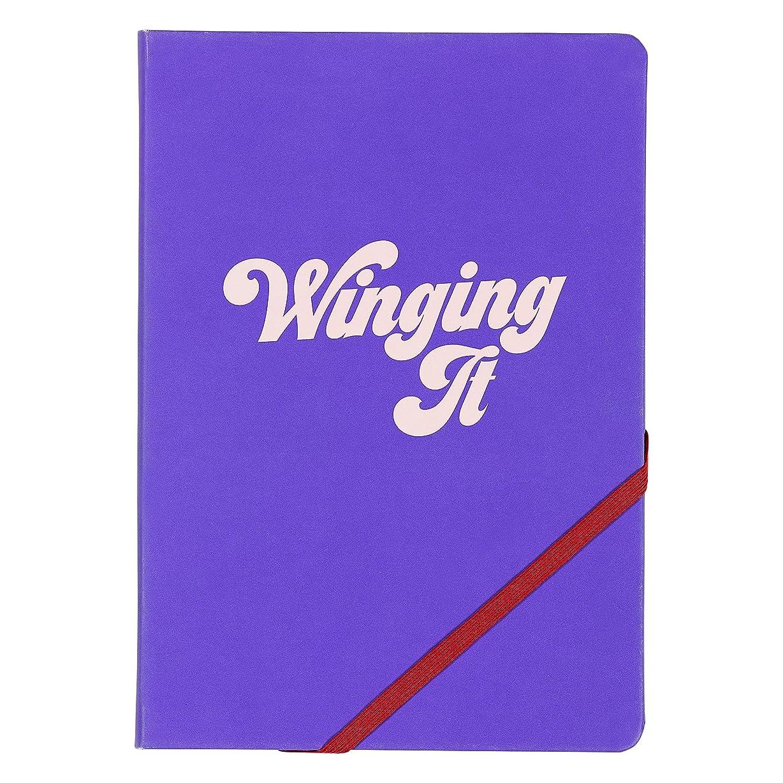 はいStudio 'Winging It' A5ノートブック  192ページ