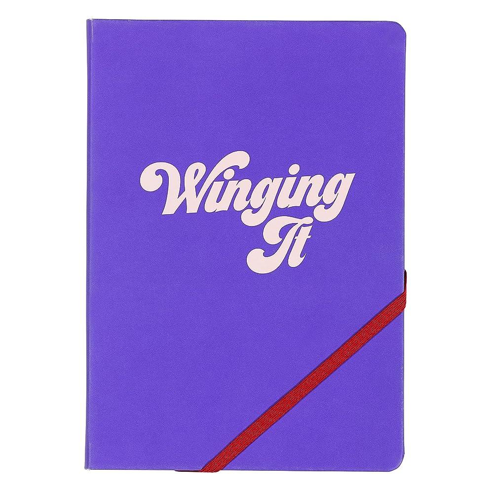 はいStudio 'Winging It' A5ノートブック| 192ページ