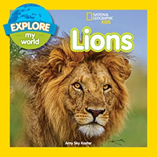 Explore My World: Lions (English Edition)