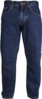 Mens Comfortable C2 Basic Light Bleach Wash Jeans Plain Sizes 30-48 Leg Short Regular Long Stone Wash Indigo