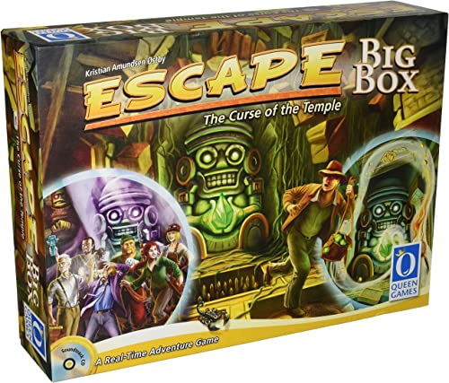 Escape the Curse Of the Temple Big Box (ENGLISCH)- Board Game