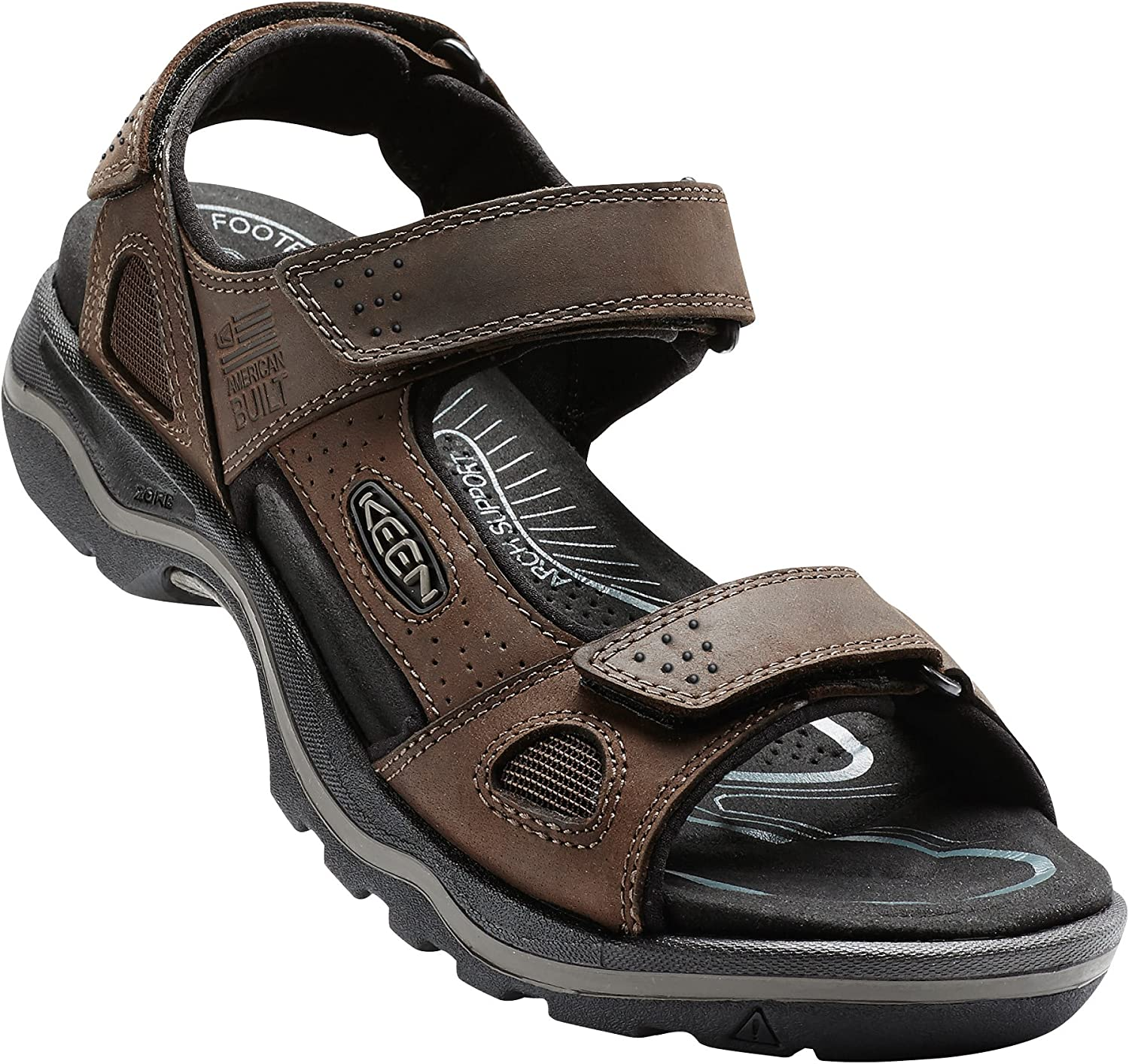 KEEN - Men's Rialto 3 Point Sandal for the Outdoors