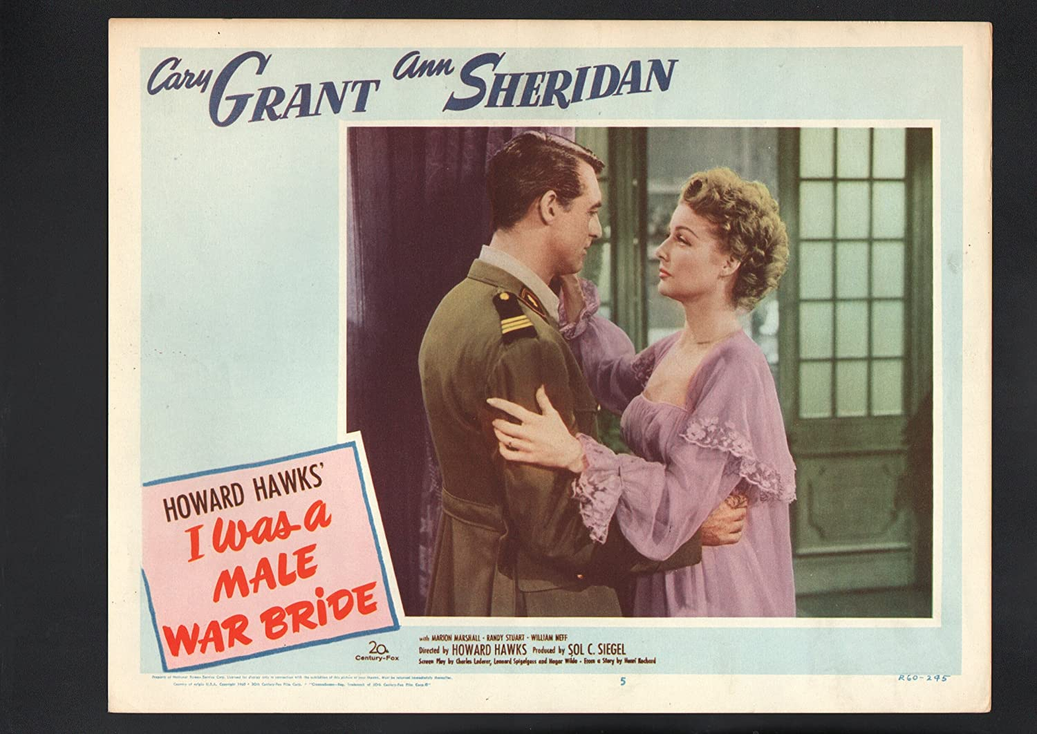 MOVIE POSTER: I Was New product a Male Card Bride Very popular! M #5-1960-Marion Lobby War