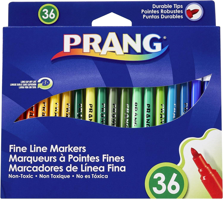 Prang Washable Markers, Fine Point, 36 Assorted Farbes, 36 36 36 Set B00125MANC | Vielfalt  768e14