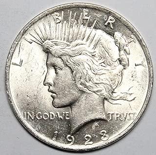 Best 1923 peace dollar Reviews