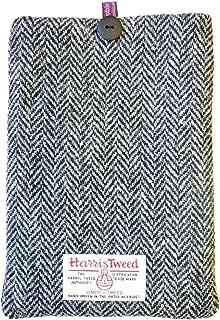 Loobie & Boo Designer Herringbone Harris Tweed iPad Tablet Cover