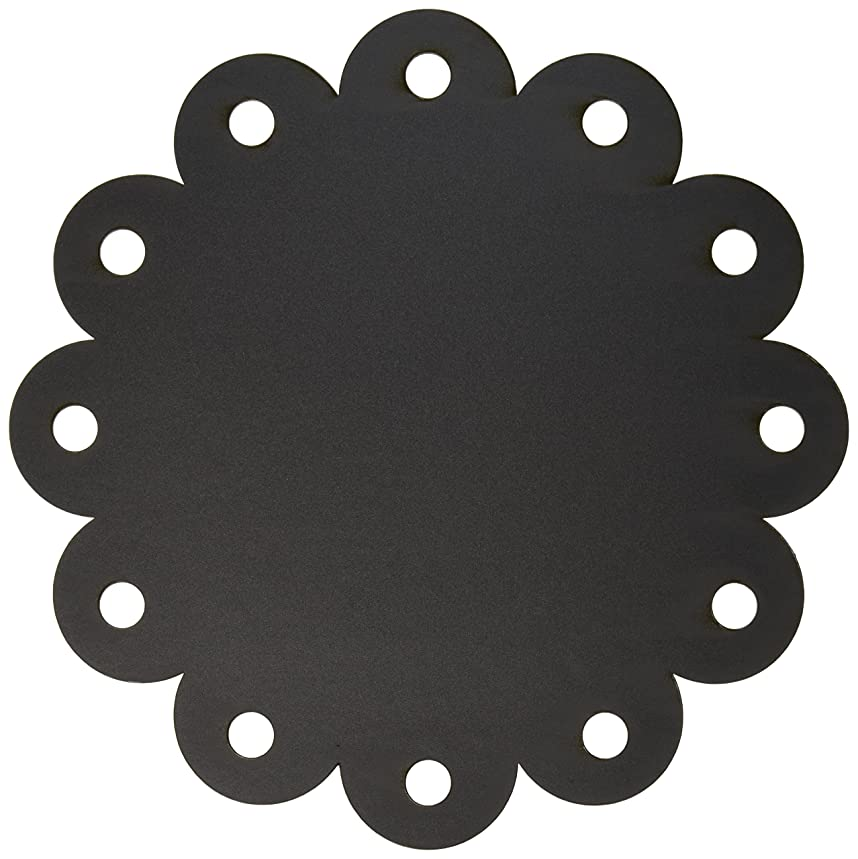 Adorn-It Chalkboard Surfaces, 12 by 18-Inch, Scallop Circle