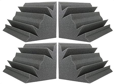 NEW LEVEL Charcoal Acoustic Foam Bass Trap