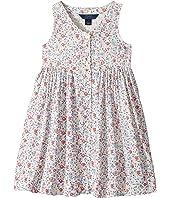 Polo Ralph Lauren Kids - Cotton Poplin Floral Dress (Little Kids)
