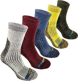 GADMAN Hiking Trekking Multi Performance Cotton Cushion Socks for Outdoor Sports 5 Pairs