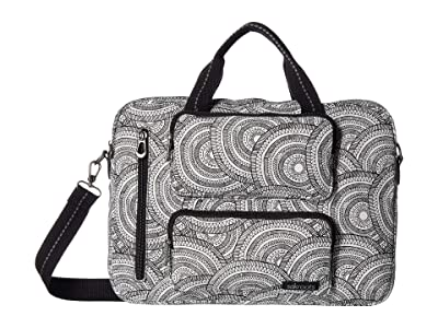 Sakroots Olympic Laptop Case (Black & White Wanderlust) Bags