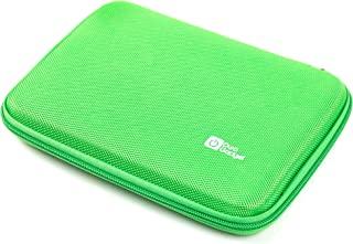 DURAGADGET Green Durable Hard Shell EVA Case Compatible with Archos 70 Copper & Archos 70b Xenon - with Internal Accessories Pouch
