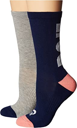 Nike - Just Do It 2-Pair Pack Crew Socks
