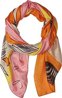 Desigual Women's Foul_Zebra Daisy, Naranja, U