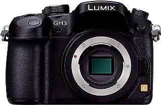 Panasonic Lumix DMC-GH3K 16.05 MP Digital Single Lens Mirrorless Camera with 3-Inch OLED - Body Only (Black) [International Version, No Warranty]