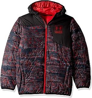 Under Armour Boys' Print Swarmdown Hooded Jacket
