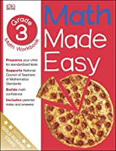 Math Made Easy: Third Grade Workbook (Math Made Easy)